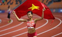 """""""Golden girl"""" of Vietnamese track and field"""