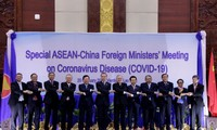 ASEAN, China enhance cooperation against Covid-19