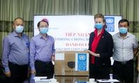 UNDP provides surgical masks to Vietnam
