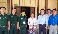 Soldier helps improve lives in border area