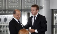 French President arrives in Lebanon after Beirut blasts