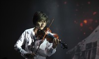 Young talented violinist on the thorny path to success