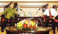 Phó Thủ tướng Lào Somsavad Lengsavath thăm Việt Nam