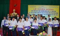 Tuyên dương thủ khoa và học sinh đoạt giải quốc tế