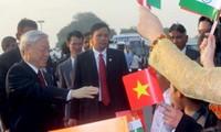 Tổng Bí thư Nguyễn Phú Trọng thăm cấp nhà nước Cộng hòa Ấn Độ