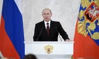Thông điệp liên bang: Củng cố vững chắc vị thế nước Nga trên trường quốc tế