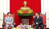 Thường trực Ban BT Lê Hồng Anh tiếp Đại sứ đặc biệt Nhật-Việt kiêm Đại sứ đặc biệt Việt-Nhật