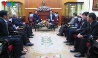 Lãnh đạo Ủy ban Trung ương MTTQ Việt Nam tiếp đoàn Hội Thánh Tin lành Trưởng lão Việt Nam