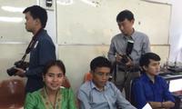 Việt Nam giúp Lào đào tạo kỹ năng nghiệp vụ báo chí