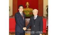 Tăng cường và thúc đẩy quan hệ đối tác chiến lược sâu rộng Việt Nam-Nhật Bản