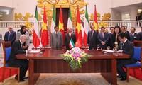 Thủ tướng Nhà nước Kuwait kết thúc tốt đẹp chuyến thăm chính thức Việt Nam