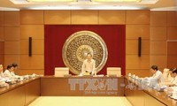Tiểu ban Nhân sự và giải quyết khiếu nại, tố cáo - Hội đồng Bầu cử Quốc gia họp phiên trù bị