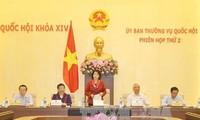 Ủy ban Thường vụ Quốc hội cho ý kiến về Dự án Luật Cảnh vệ