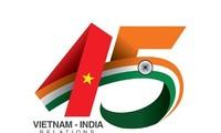 Công bố logo kỷ niệm 45 năm quan hệ ngoại giao Việt Nam - Ấn Độ