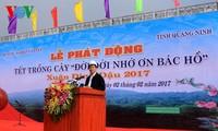 Chủ tịch nước Trần Đại Quang phát động Tết trồng cây 2017 tại Quảng Ninh