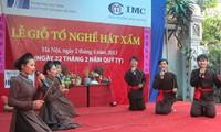 Hải Phòng tổ chức lễ giỗ Tổ nghề hát Xẩm
