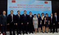 Đà Nẵng hợp tác kinh tế và nông nghiệp với tỉnh Sơn Đông (Trung Quốc)