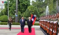 Quan hệ đặc biệt Việt Nam - Lào mãi mãi xanh tươi, đời đời bền vững