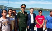 Philippines tổ chức đưa ngư dân và tàu cá Việt Nam về nước