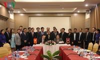 Chủ tịch Quốc hội Lào đánh giá cao tiến độ triển khai dự án xây dựng nhà Quốc hội mới của Lào
