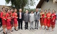 Gặp gỡ hữu nghị Việt Nam - Lào
