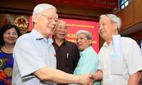 Tổng Bí thư Nguyễn Phú Trọng: Công tác chống tham nhũng đang phát triển thành xu thế