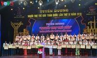 Tuyên dương người thợ trẻ giỏi toàn quốc lần thứ 9 năm 2018