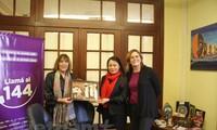 Đoàn Hội Liên hiệp Phụ nữ Việt Nam thăm và làm việc tại Argentina