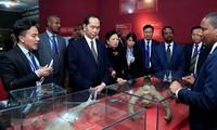 Chủ tịch nước Trần Đại Quang kết thúc chuyến thăm cấp Nhà nước đến Ethiopia