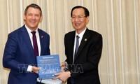Lãnh đạo Thành phố Hồ Chí Minh tiếp Thủ hiến Vùng lãnh thổ Bắc Australia