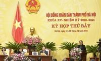 Phó Chủ tịch Quốc Hội Tòng Thị Phóng dự kỳ họp thứ 7, Hội đồng Nhân dân thành phố Hà Nội