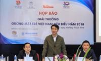 Giải thưởng gương mặt trẻ Việt Nam tiêu biểu năm 2018