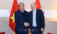 Thủ tướng Nguyễn Xuân Phúc kết thúc chuyến thăm dự WEF Davos 2019