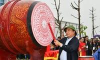 Thủ tướng Nguyễn Xuân Phúc phát động Tết trồng cây tại Nghệ An