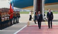 Lễ đón chính thức Thủ tướng Nguyễn Xuân Phúc tại Thủ đô Moscow, Liên bang Nga