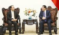 Khuyến khích nhà đầu tư nước ngoài có chuỗi phân phối hàng hóa, dịch vụ toàn cầu tới đầu tư lâu dài tại Việt Nam