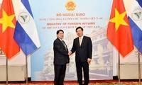 Bộ trưởng Bộ Ngoại giao Cộng hòa Nicaragua thăm chính thức Việt Nam
