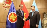 Phó Thủ tướng, Bộ trưởng Ngoại giao Phạm Bình Minh tiếp xúc song phương tại tuần lễ cấp cao khóa họp 74 ĐHĐ LHQ