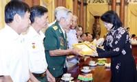 Phó Chủ tịch nước Đặng Thị Ngọc Thịnh tiếp Đoàn đại biểu người có công tỉnh Đồng Nai