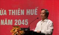 Phát triển Thừa Thiên Huế theo hướng thành phố di sản trực thuộc Trung ương