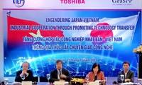 Tăng cường hợp tác chuyển giao công nghệ giữa Nhật Bản - Việt Nam