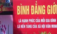 Bình đẳng giới mục tiêu phấn đấu của Việt Nam