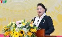 Chủ tịch Quốc hội dư Hội nghị triển khai nhiệm vụ năm 2020 lĩnh vực Lao động - Người có công và Xã hội