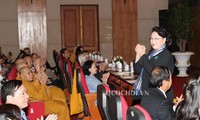 Chủ tịch Quốc hội Nguyễn Thị Kim Ngân dự Hội nghị Ủy ban Trung ương Mặt trận Tổ quốc Việt Nam lần thứ 2 (Khóa IX)