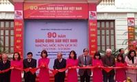 """Khai mạc trưng bày """"90 năm Đảng Cộng sản Việt Nam-Những mốc son lịch sử"""""""