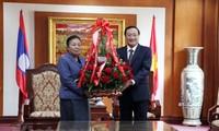 Đảng Nhân dân Cách mạng Lào tự hào trước những thành tựu của Đảng Cộng sản Việt Nam