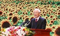 Mittinh trọng thể kỷ niệm 90 năm thành lập Đảng cộng sản Việt Nam