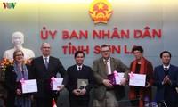 Đại sứ đặc mệnh toàn quyền các nước Bắc Âu thăm và làm việc tại tỉnh Sơn La