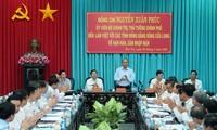 Thủ tướng Nguyễn Xuân Phúc làm việc với các tỉnh ĐBSCL về hạn hán, xâm nhập mặn