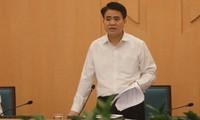 Chủ tịch UBND Thành phố Hà Nội: Nhân dân Thủ đô bình tĩnh, tin tưởng các biện pháp phòng chống dịch Covid -19